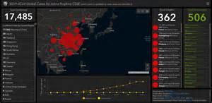 real time  map tracks coronavirus outbreak