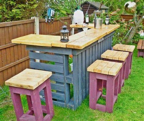 Home Design Blog Diy diy pallets garden bar home design garden