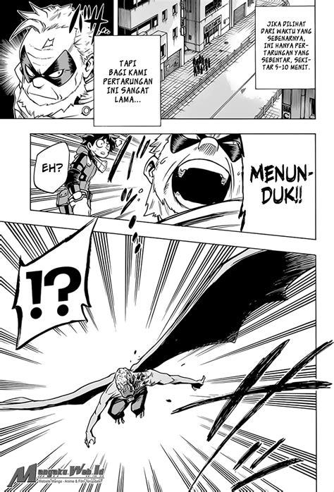 Komik Step No 3 5 Dan 7 Mangaka Adachi Mitsuru boku no academia chapter 55 bahasa indonesia bacamanga