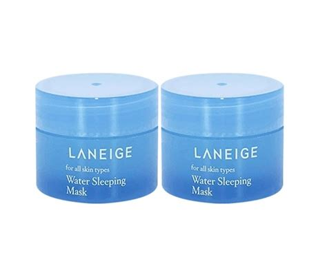 Laneige Water Sleeping Mask Laneige Original sle laneige for all skin types water sleeping mask 15ml 2pc 30ml kbeauty original