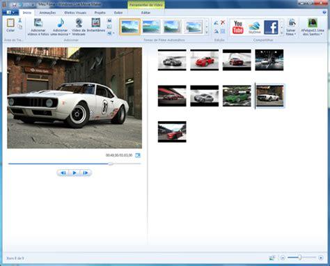 tutorial como usar windows live movie maker tutorial criando apresenta 231 245 es de slides no windows live