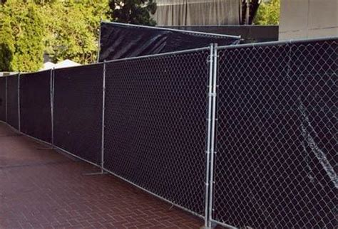 free standing fence sections 1st jon inc portable restrooms whittier california