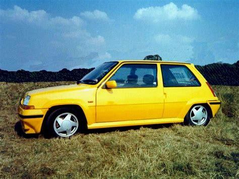 renault yellow renault 5 gt turbo ph2 yellow renault