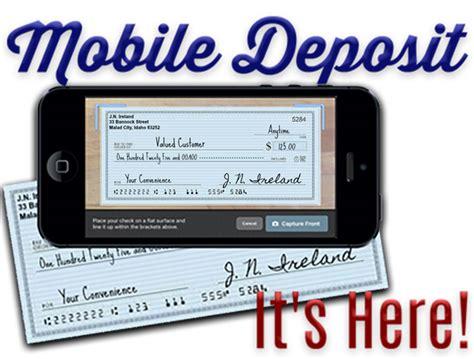 bank mobile deposit mobile deposit ireland bank