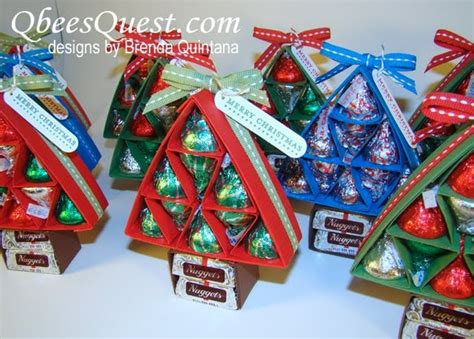 cheap ideas to make for xmas large group hershey tree 45 diy gifts for co workers cousins or other big groups