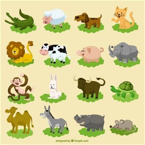 imagenes vectoriales animales gratis animales de dibujos animados fotos y vectores gratis