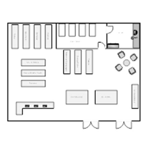 warehouse layout design book store layout exles
