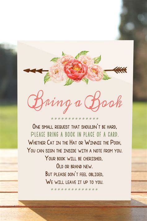 Book Baby Shower by Bring A Book Instead Of A Card Bring A Book Baby Shower