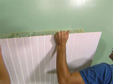 How To Apply Wainscoting To Walls How To Install Wainscoting To A Wall Interior Design