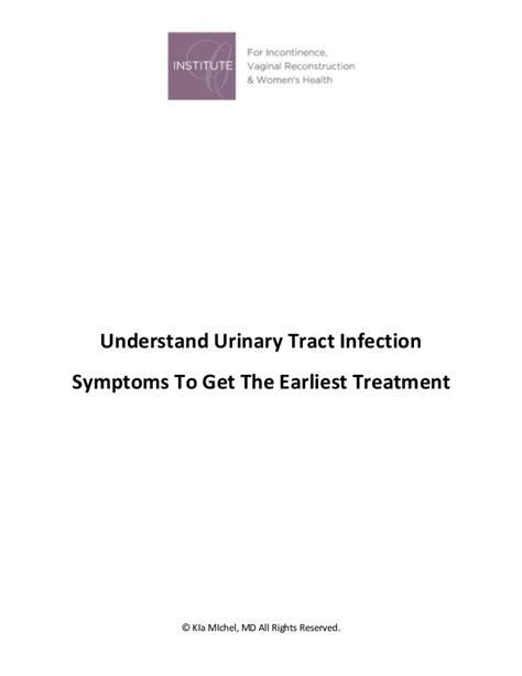 Excuse Letter For Urinary Tract Infection Understand Urinary Tract Infection Symptoms To Get The Earliest Treat