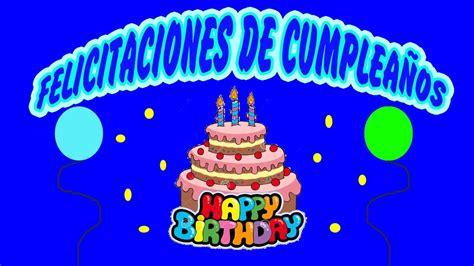 imagenes graciosas de cumpleaños con movimiento felicitaciones de cumplea 241 os divertidas graciosas youtube