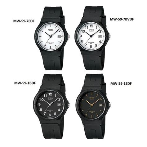 Casio Mw 59 1b By Original jam tangan casio mw 59 series original mw59 shopee