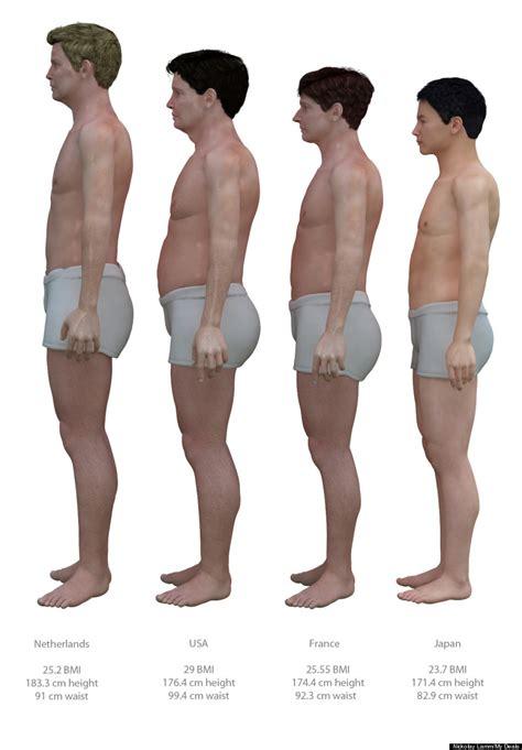 average male body average american male s body compared to bodies of men