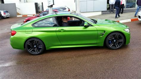 java green bmw java green bmw m4 touches in south africa