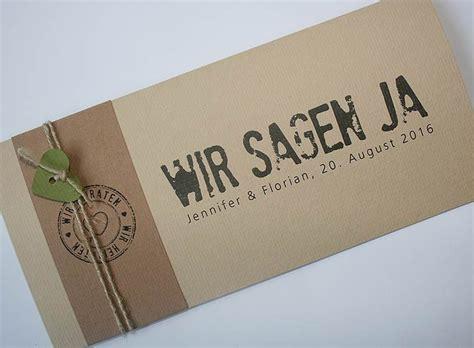 Hochzeitskarten Einsteckkarten by Hochzeitskarte Felina Mit Banderole Und Kordel Wedding