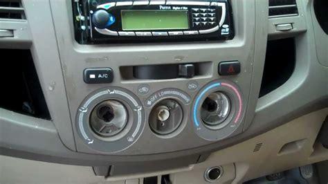 remove  centre dash panel  toyota hilux mk vi
