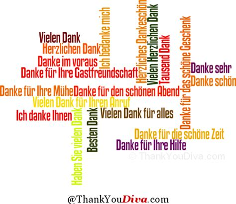 how to say in how to say quot thank you quot in german in many different ways