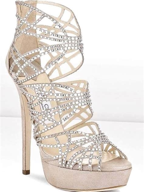 Looks Gorgeous As Usual In Jimmy Choo Bias Leather Heels by Jimmy Choo Strappy High Heels Tonik Wedding Hairstyles