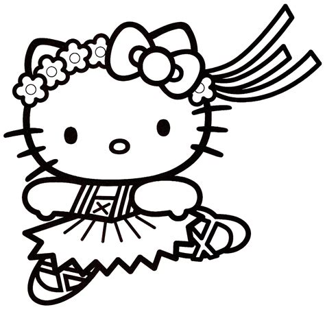 hello kitty logo coloring pages coloriage hello kitty 16
