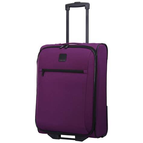 cabin luggage suitcase large purple suitcase mc luggage