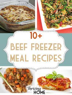 Easy freezer meals be ready and freezers on pinterest