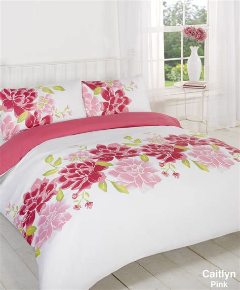 Kingsize Quilt Covers by Duvet Quilt Cover Bedding Set Pink Single King