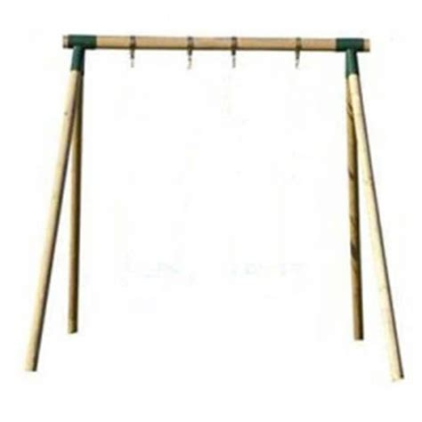 single wooden swing frame all wooden swing frames the outdoor toy centre tp