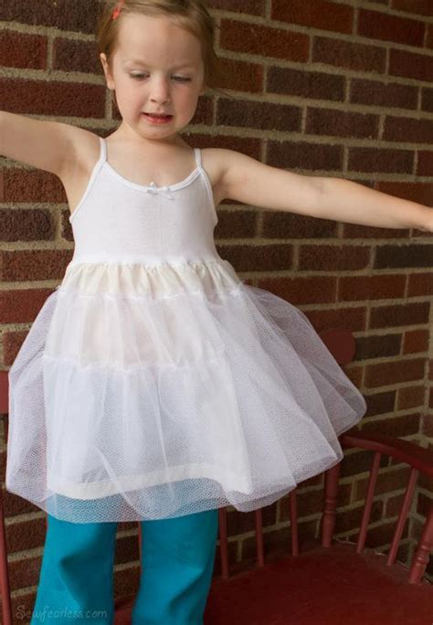 simple underskirt pattern you have to see diy little girls petticoat on craftsy