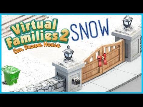 download mod game virtual families 2 virtual families 2 graphics mod winter mod pc youtube