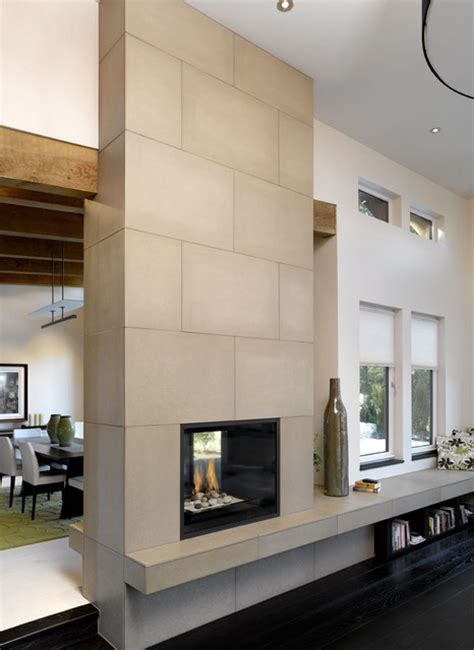 Floor And Decor Dallas Concrete Fireplace Tiles Modern Dallas By Solus