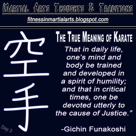 what is the real meaning of martial arts trends the true meaning of karate