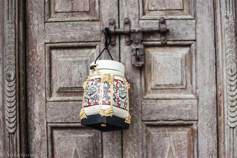 Handmade Rice Box - made white and floral design thai rice box