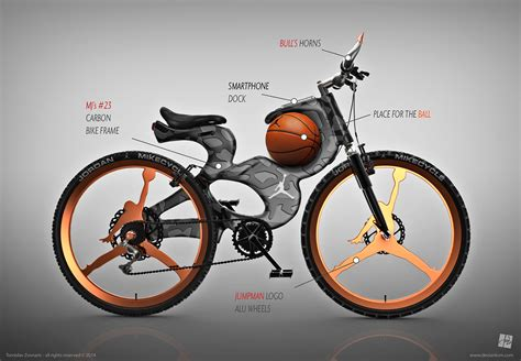 Fahrrad Motorrad by Michael Jordan Inspired Bike Mikecycle Black Latino