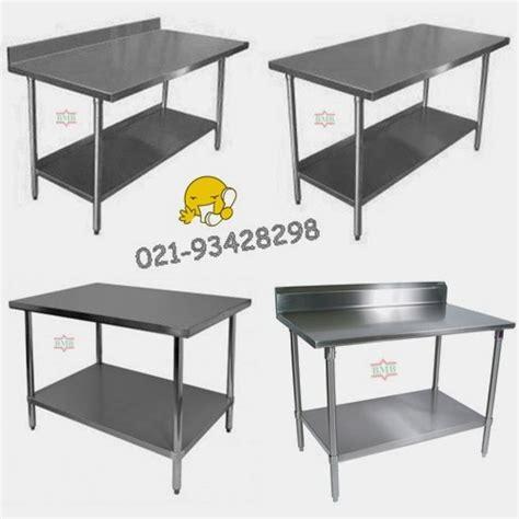 Meja Dapur Stainless Steel pusat penjualan dan pembuatan aneka meja stainless