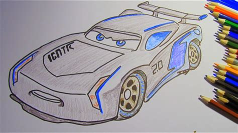 Cars 3 Sketches by How To Draw And Color Jackson Disney Pixar Cars 3