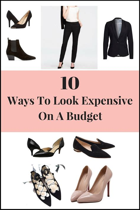 10 ways to look expensive on a budget yet trendy