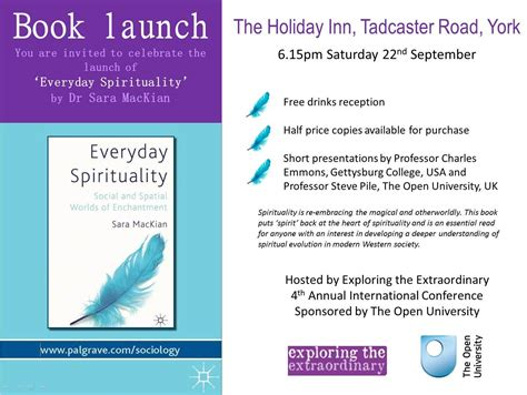 Book Release Invitation Letter Book Launch Everyday Spirituality Everyday Spirituality