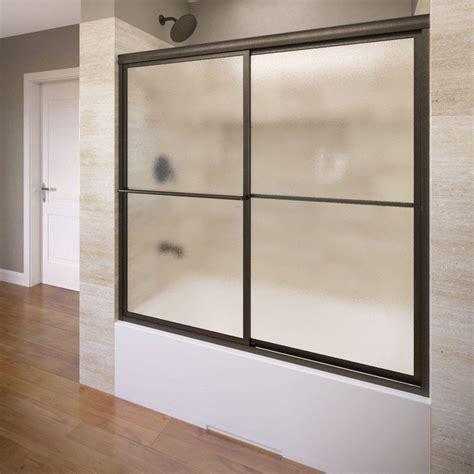 Shower Doors For Tubs Coastal Shower Doors Paragon Series 66 In X 58 In Framed Sliding Tub Door With Towel Bar In