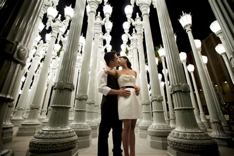 wedding photo locations in los angeles angelihna and robert s stylish downtown los angeles