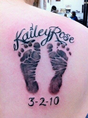 tattoo love baby love this tattoo baby foot prints tats piercings