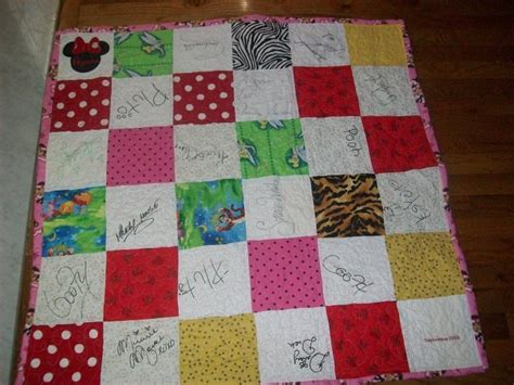 Autograph Quilts by Another Autograph Quilt Stuff I Ve Made
