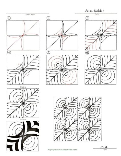 how to add participants on doodle zentangle pattern pinteres