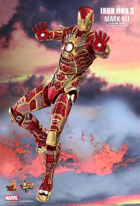 toys iron 3 iron xli 41 bones retro armor version