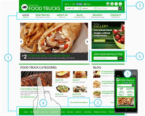 food truck design app zo s ideas for digital design case study website to