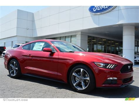 ford ruby metallic paint 2015 ruby metallic ford mustang v6 coupe 103279411