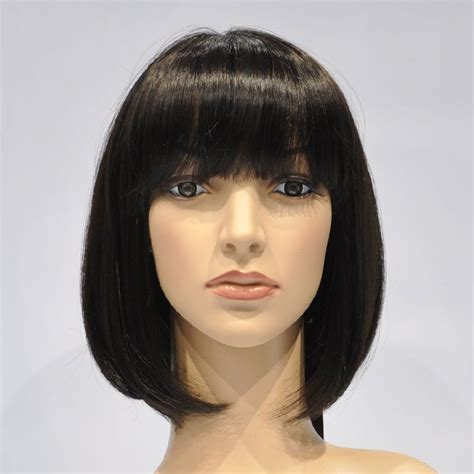 hair wigs dark brown bob wig natural wigs wasp hair from wasp hair