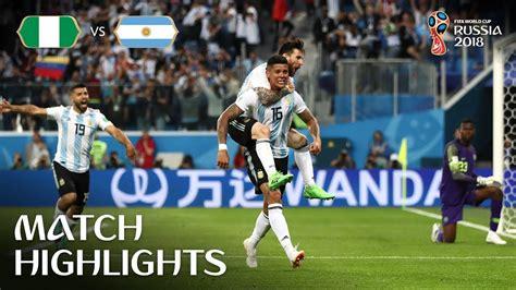nig 233 ria argentine 1 2 croatie islande 2 1 les vid 233 os