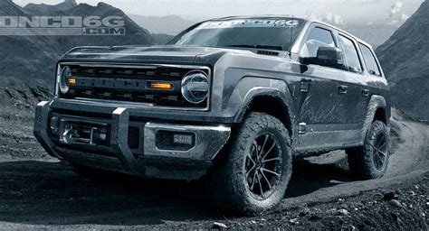 How Much Is The 2020 Ford Bronco by 2020 Ford Bronco May Get 325 Hp V6