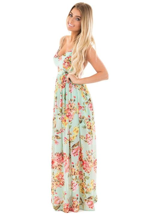 Maxi Blue Flower 25 best ideas about floral maxi dress on