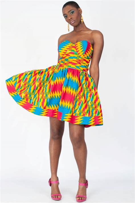 ghanaian ladies straight dress must read what your favourite kente colour actually mean